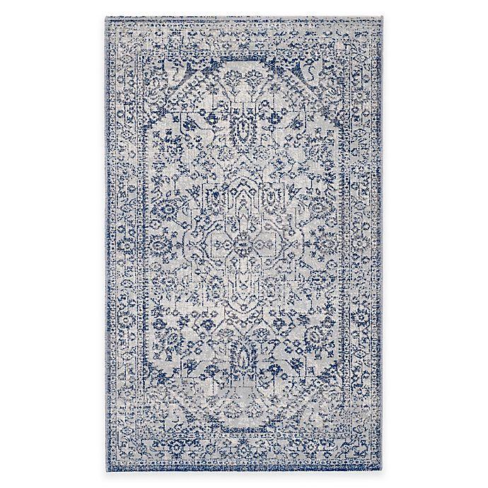 Alternate image 1 for Safavieh Artisan Arash 3-Foot x 5-Foot Area Rug in Silver/Blue