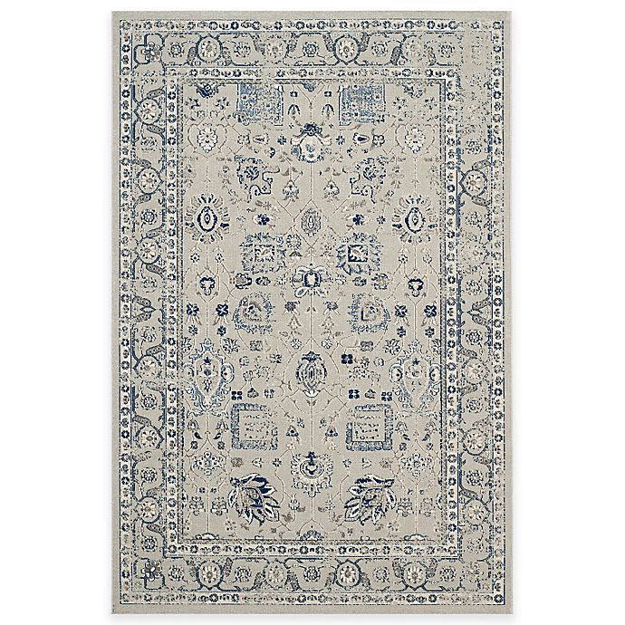 Alternate image 1 for Safavieh Artisan Kir 4-Foot x 6-Foot Area Rug in Silver
