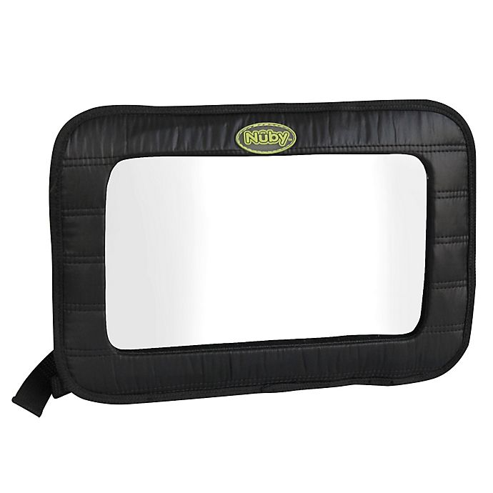 Alternate image 1 for Nuby™ Back Seat Baby View Mirror in Black