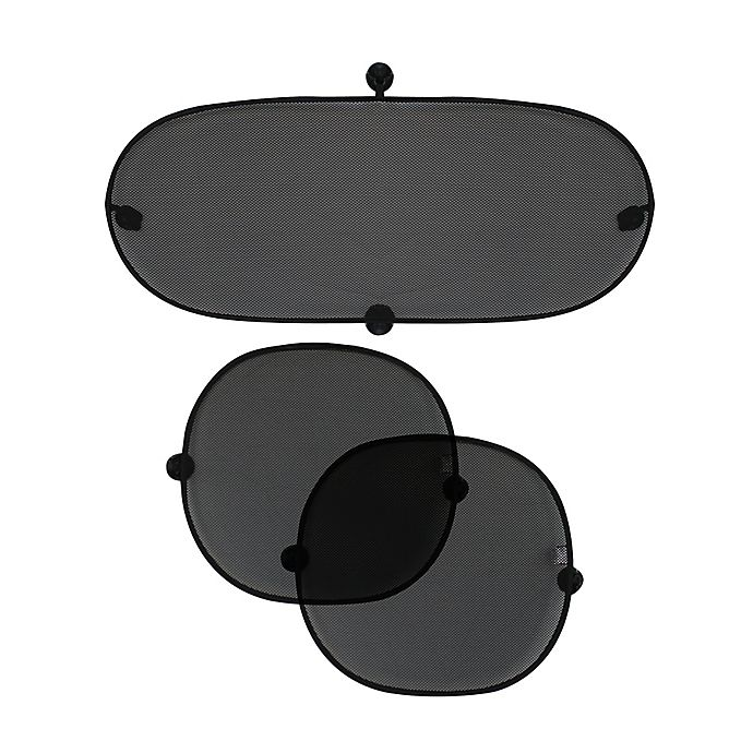 Alternate image 1 for Nûby™ Pop Sunshades in Black (Set of 3)