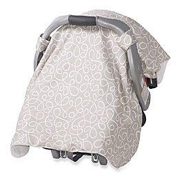 Jolly Jumper® Infant Car Seat Veil in Swirl Grey