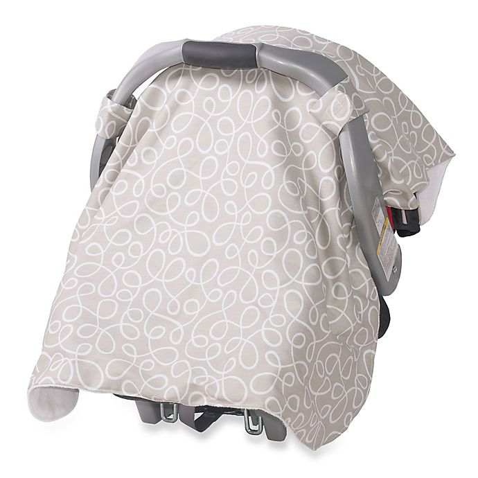 Fabulous Jolly Jumper Infant Car Seat Veil In Swirl Grey Bed Bath Uwap Interior Chair Design Uwaporg