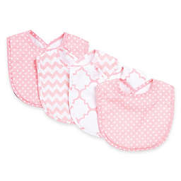 Trend Lab® 4-Pack Pink Sky Bib Set