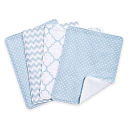 Trend Lab® 4-Pack Blue Sky Burp Cloth Set