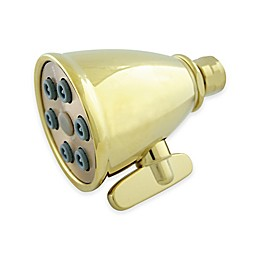 Kingston Heritage Brass Adjustable 6-Jet Spray Showerhead