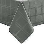 Origins™ Microfiber 60-Inch x 140-Inch Oblong Tablecloth in Charcoal