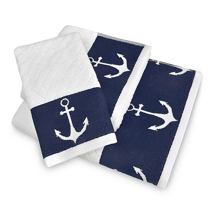 Alternate image 1 for Lamont Home® Anchors Away Fingertip Towel