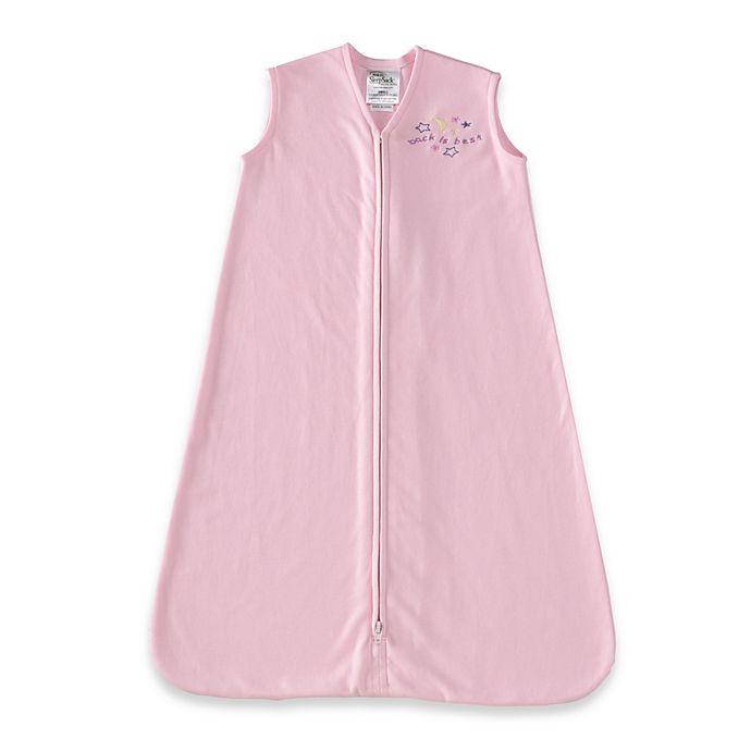 Alternate image 1 for HALO® SleepSack® Large Cotton Wearable Blanket in Pink