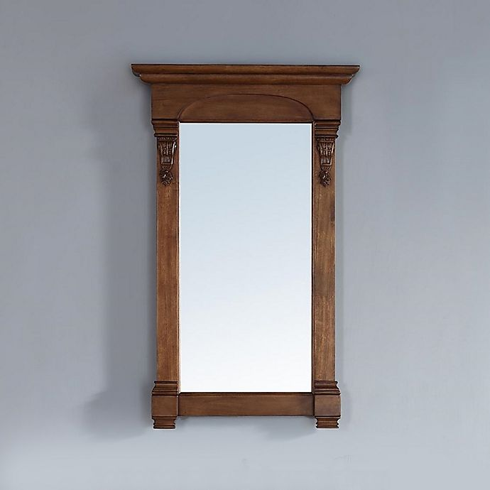 Alternate image 1 for James Martin Furniture Brookfield 26-Inch Rectangular Mirror in Country Oak