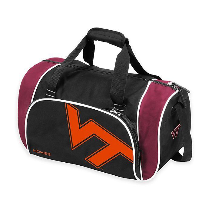 Alternate image 1 for Virginia Tech Locker Duffle Bag