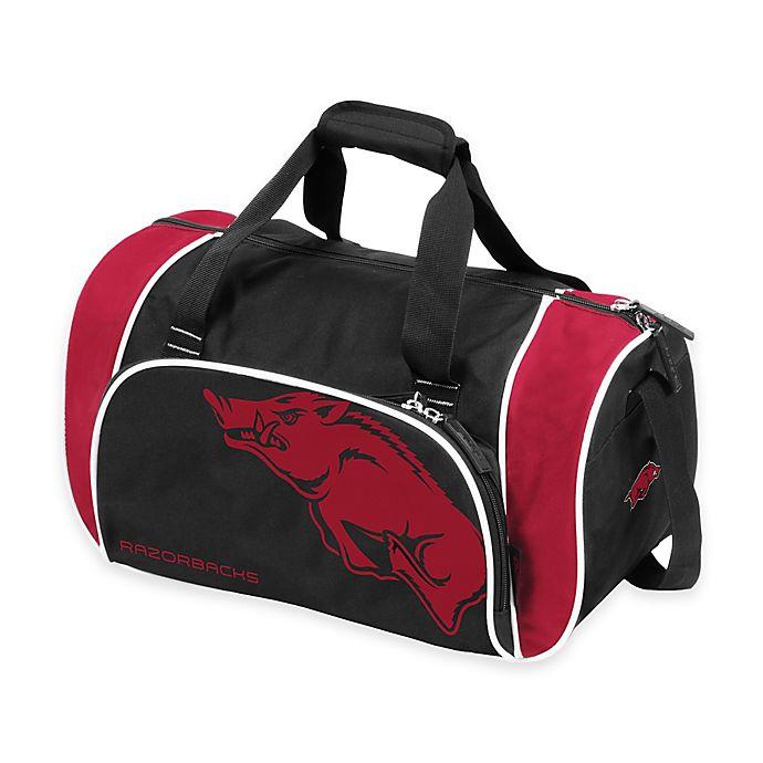 Alternate image 1 for University of Arkansas Locker Duffle Bag