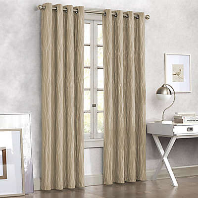 Tangent Grommet Top Window Curtain Panel