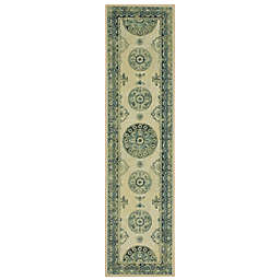 Mohawk Home® Prismatic Ladoga 2' x 8' Runner in Blue/Multi