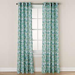 Chloe Print Grommet Window Curtain Panel