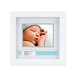 Pearhead® ID Bracelet 3-Inch x 4-Inch Picture Frame in White