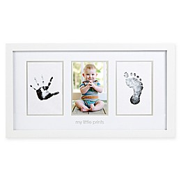 Pearhead® Babyprints 4-Inch x 6-Inch Photo Frame in White