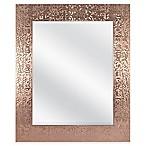 Door Solutions™ 36-Inch x 30-Inch Large Rectangular Sequin Mirror in Copper