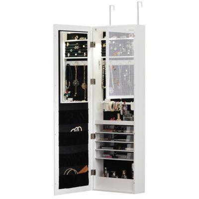 Door Solutions Over The Door Mirrored Mega Cabinet In