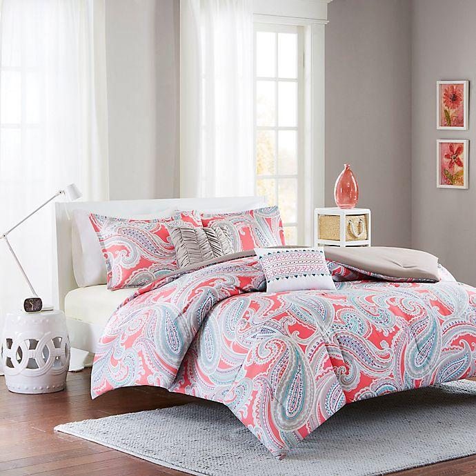 Alternate image 1 for Intelligent Design Paola Comforter Set