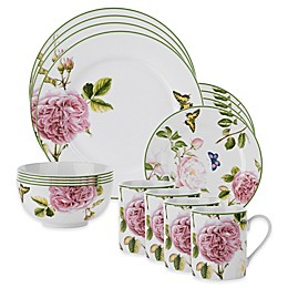 Spode Home® Roses 16-Piece Dinnerware Set