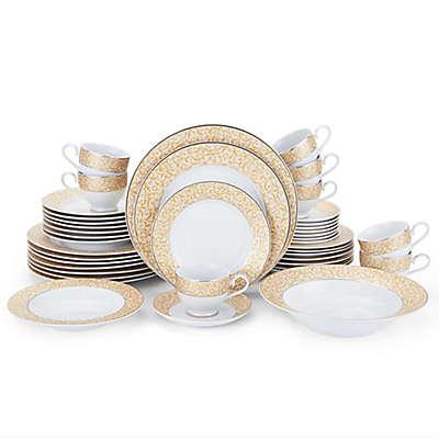 Mikasa® Parchment Gold 42-Piece Dinnerware Set
