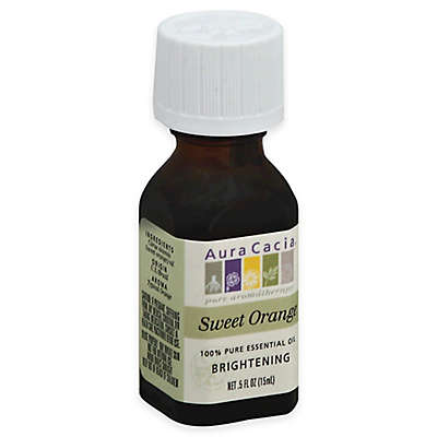 Aura Cacia® 0.5 oz. Pure Essential Oil in Sweet Orange