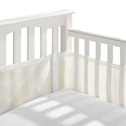 BreathableBaby® Breathable Mesh Crib Liner in Ecru