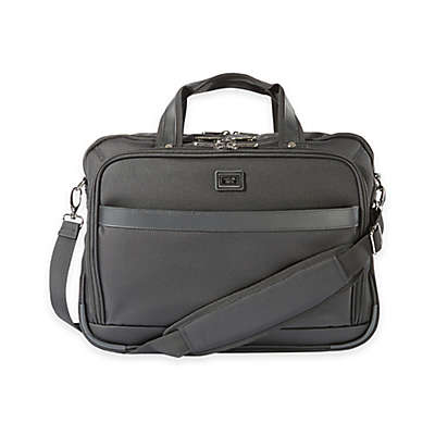 Latitude 40°N® Freehold Laptop Briefcase in Black