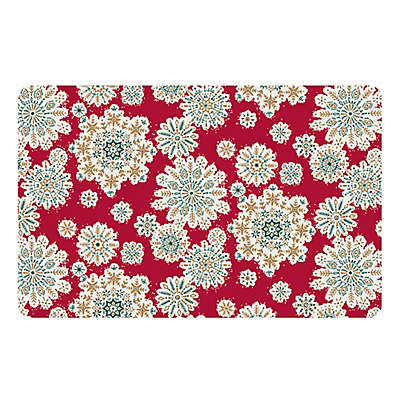 The Softer Side by Weather Guard™ Vintage Ornaments Kitchen Mat