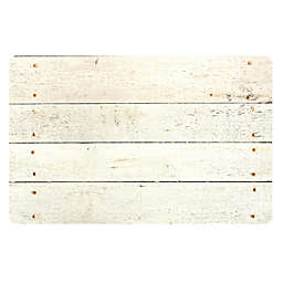 The Softer Side by Weather Guard™ Whitewash Kitchen Mat