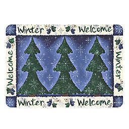 The Softer Side by Weather Guard™ Winter Welcome Kitchen Mat