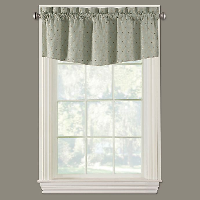 Alternate image 1 for Collins Modern Ascot Window Valance