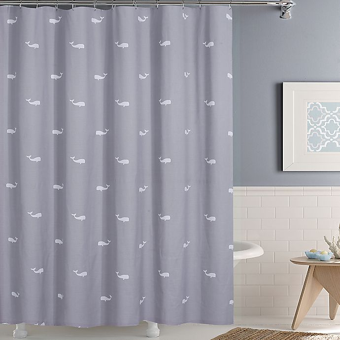 Alternate image 1 for Moby Shower Curtain
