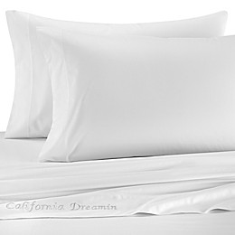 The Pillow Bar® Cotton Sateen Sheet Set in White