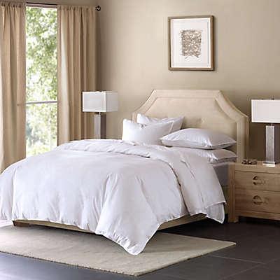 Madison Park Cotton Linen Blend Duvet Cover Mini Set