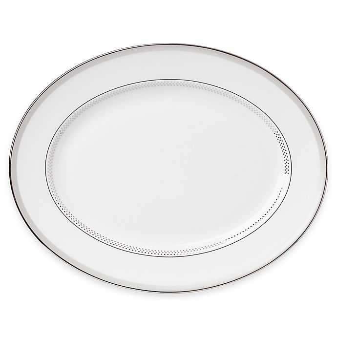Alternate image 1 for kate spade new york Whitaker Street™ Oval Platter