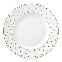 kate spade new york Larabee Road™ Gold Dinner Plate