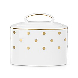 kate spade new york Larabee Road™ Gold Covered Sugar Bowl
