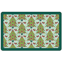 The Softer Side by Weather Guard™ Yuletide Trees 2 Kitchen Mat