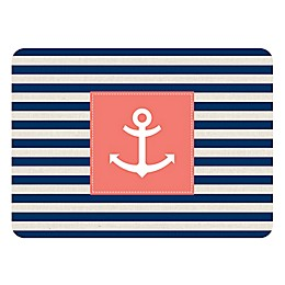 The Softer Side by Weather Guard™ Anchor Stripe Kitchen Mat
