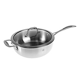 Zwilling J.A. Henckels Spirit 4.6 qt. Stainless Steel Covered Perfect Pan