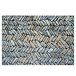The Softer Side by Weather Guard™ Herringbone Path Kitchen Mat