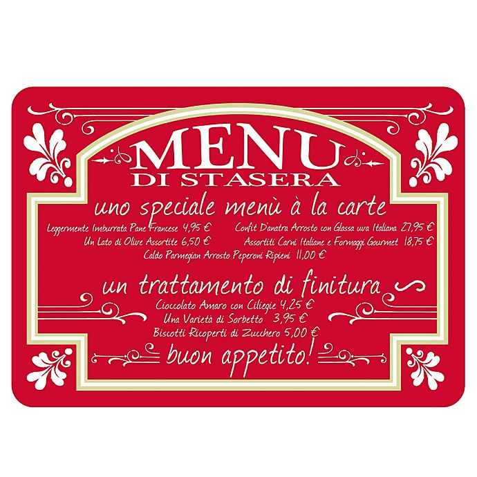 The Softer Side by Weather Guard™ Italian Bistro Kitchen Mat ...
