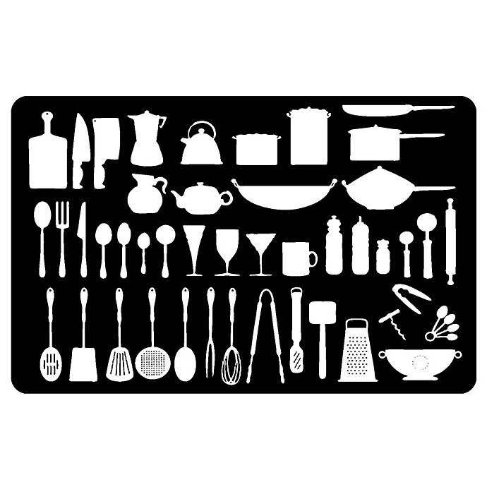 The Softer Side By Weather Guard Kitchenette Kitchen Mat In