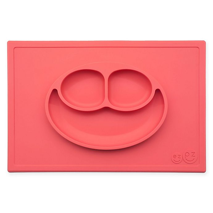 Alternate image 1 for ezpz Happy Mat Placemat in Coral
