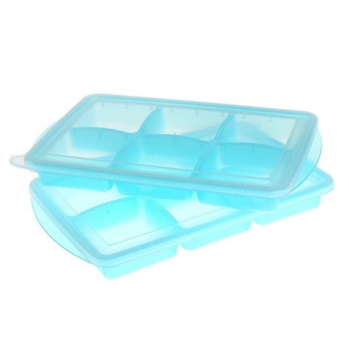 Alternate image 1 for Innobaby EZ Pop Freezer Tray (Set of 2)
