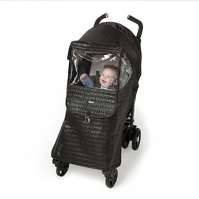 Alternate image 1 for Chicco Stroller Rain Cover in Black
