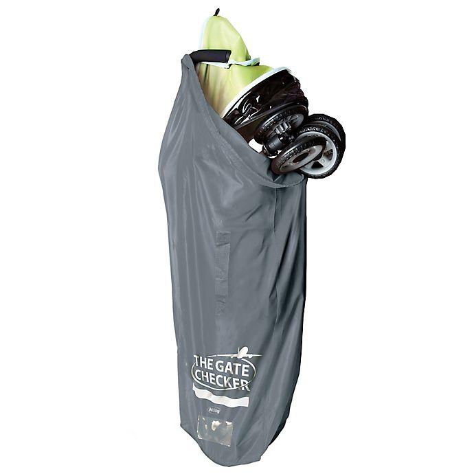 Alternate image 1 for Nuby™ Umbrella Stroller Gate Checker Bag
