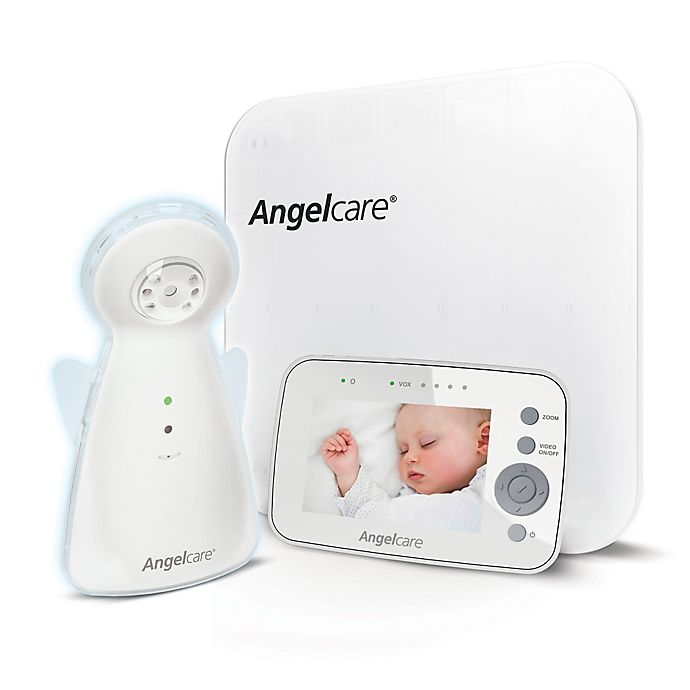 Alternate image 1 for Angelcare® Video, Movement, and Sound Monitor