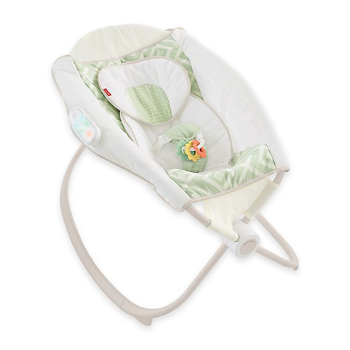 Alternate image 1 for Fisher-Price® Smart Connect™ Deluxe Newborn Auto Rock 'n Play™ Sleeper